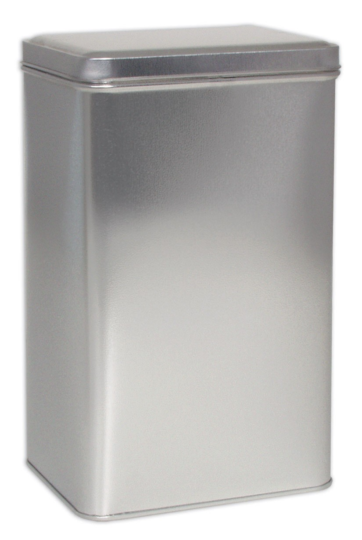 1 Rect 700 Platinum Coffee Tin