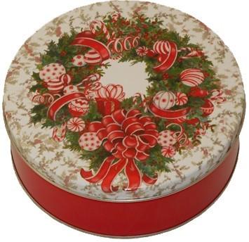5C Red & White Wreath