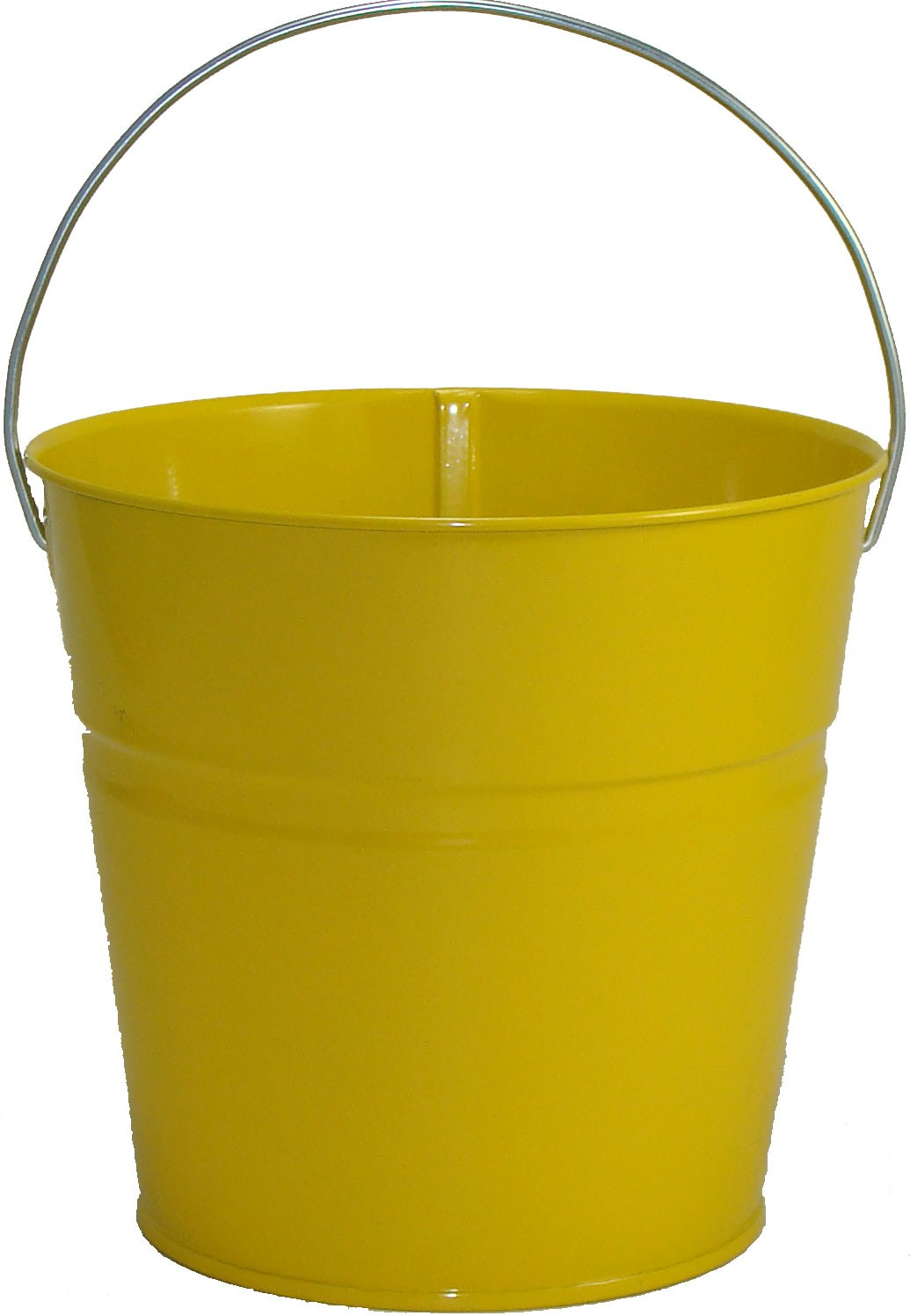 2 Qt Powder Coated Bucket-Sunshine Yellow -  312