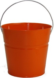 2 Qt Powder Coated Bucket-Orange Peel - 319