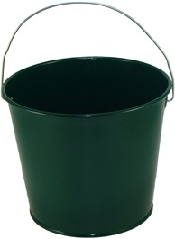 5 Qt Powder Coated Bucket - Hunter Green 004