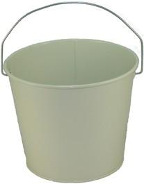 5 Qt Powder Coated Bucket - Beige Shimmer 316
