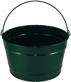 16 Qt Powder Coat Bucket - Hunter Green 004