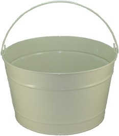 16 Qt Powder Coat Bucket - Beige Shimmer 316 - WHILE SUPPLY LASTS!
