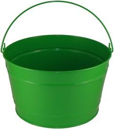 16 Qt Powder Coat Bucket - Electric Green 317