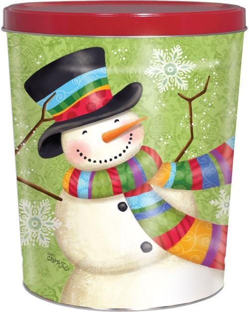 25T Scarf Snowman
