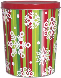 25T Stripes & Snowflakes