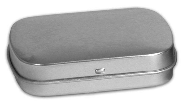 Sm Flat Hinged - Platinum