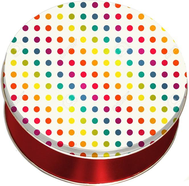 2C Metallic Dots
