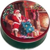 2C Santa By Fireplace