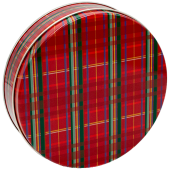 1S Red Plaid