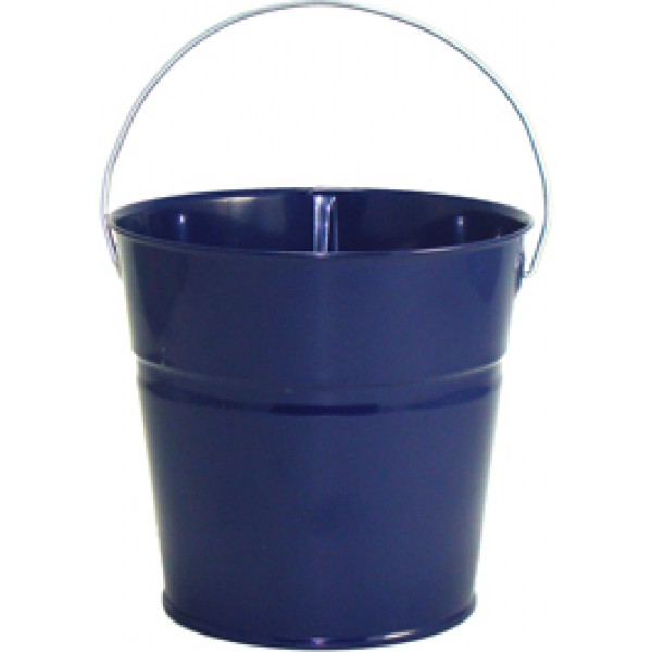 2 qt powder coated bucket navy blue lustre 308