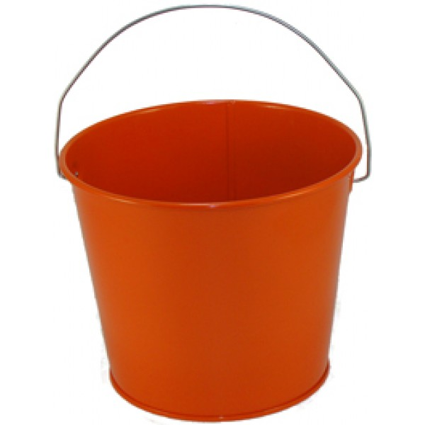 5 Qt Powder Coated Bucket Orange Peel 319