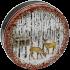1S Deer & Birches