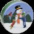 1S Snowman Hug