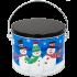 5S Whimsical Snowmen  (LA)