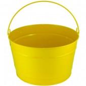 16 Qt Powder Coat Bucket - Sunshine Yellow 312