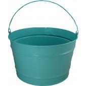 16 Qt Powder Coat Bucket - Robins Egg Blue 321