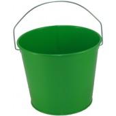 5 Qt Powder Coated Bucket - Electric Green 317