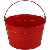 16 Qt Powder Coat Bucket - Candy Apple Red 003