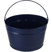 16 Qt Powder Coat Bucket - Navy Blue Lustre 308
