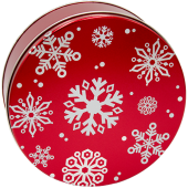 5C Red with Snowflakes