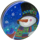 115 Top Hat Snowman (cs/20)