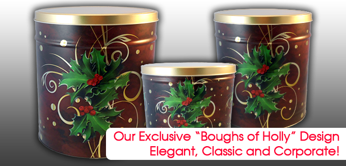 Our Exclusive and very popular Boughs of Holly Design