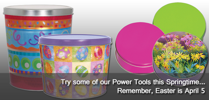 Try some of our Power Tools this Springtime